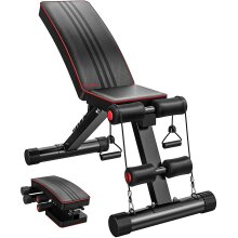 YOLEO Adjustable Weight Bench-Utility Weight Benches for Home Gym