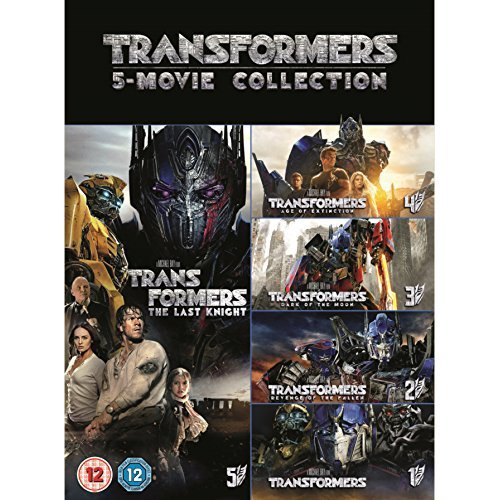 Transformers 1-5 Movie Collection (5 Films) DVD [2017]