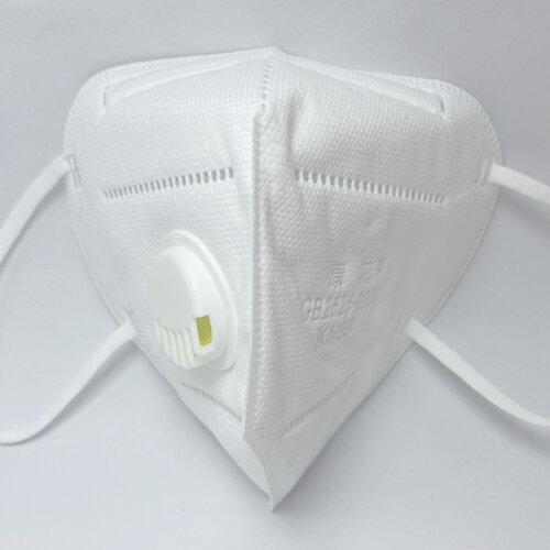 10x KN95 masks with exhalation valve, FFP2 protective mask, 95% filtration filter respirator, KN95 =FFP2=N95=KF94, individual package