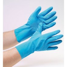 TTD BNITEL Disposable Blue Nitrile Powder Free Gloves Pack of 100 Extra Large