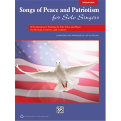 Alfred 00-38145 SONGS OF PEACE PAT SOL SNG-HI-BK&CD