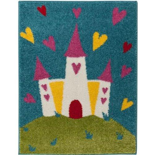 Princess Castle Rug 80 x 120 cm
