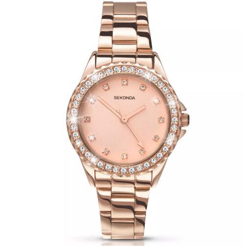 Sekonda Editions Temptations 4253 Women's Watch - Rose Gold