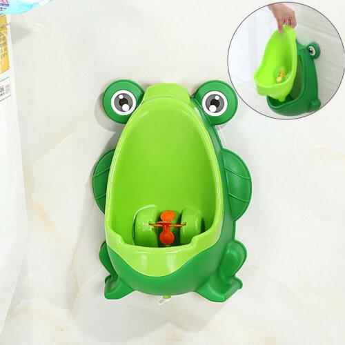 Frog Kids Potty Toilet Kids Urinal Baby Boys Pee Trainer Bathroom