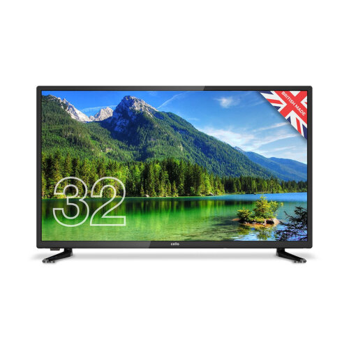 """Cello 32"""" Inch HD Ready 720p LED TV HD with Freeview HD and USB PVR Recording"""
