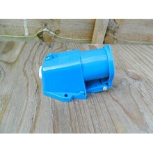 Caravan / Motorhome 240V Mains Angled Inlet With Flap
