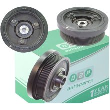 CRANKSHAFT PULLEY DAMPER FOR LAND ROVER DISCOVERY 2 & DEFENDER 2.5 TD5 LHG100580