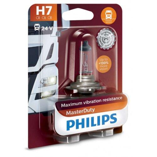 car headlight H7 MasterDuty24V 70W white in blister