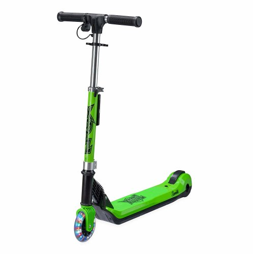 Xootz Kids Elements Electric Folding Scooter with LED - Green