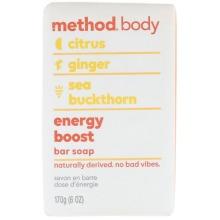 Method, Body, Bar Soap, Energy Boost, 6 oz (170 g)
