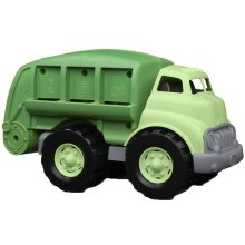 Green Toys Recycle Truck with Movable Recycling Bed & Open/Shut Rear Door