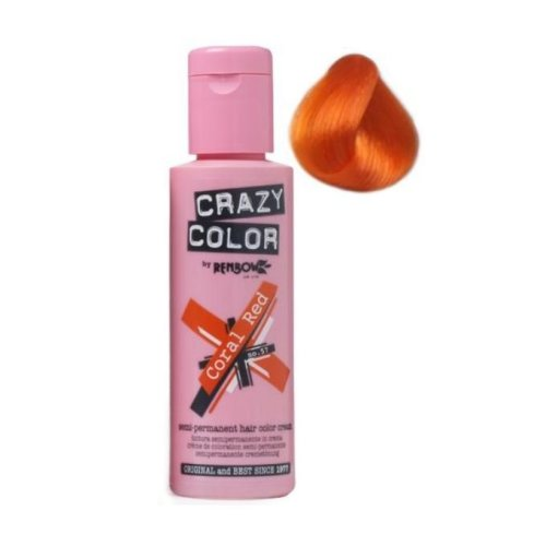 Renbow Crazy Color Coral Red - 57