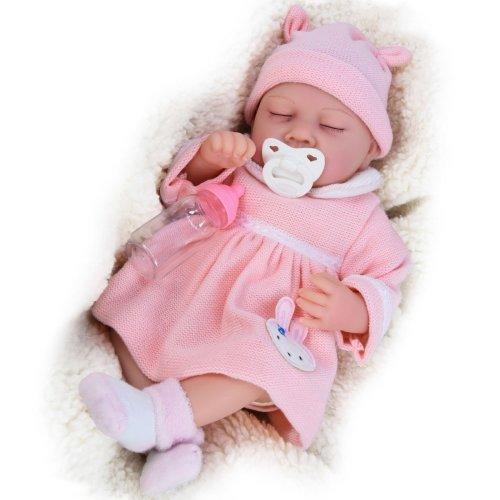 "(Girl) The Magic Toy Shop 20"" Lifelike Reborn Baby Doll | Handmade Sleeping Baby Doll"