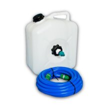 Water Container 23 with Water Adaptor and 7.5m Food Grade Hose