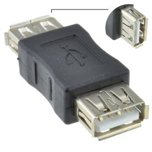 kenable USB 2.0 A Socket Female To Female Adapter Joiner Coupler