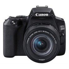Canon EOS 250D DSLR Camera With EF-S 18-55mm f/4-5.6 IS STM Lens Kit - Black