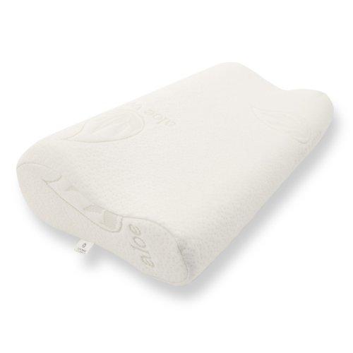 neck pillow with aloe vera pillowcase