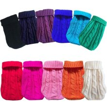 Winter Pet Clothes for Small Dogs - Warm Sweater utfit for Cat / Dog