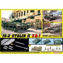 Dragon 6537 JSD-2 Stalin II & Soviet Infantry Tank Riders 1:35 Plastic Model Kit