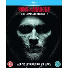 Sons Of Anarchy Seasons 1 to 7 Complete Collection Blu-Ray [2015]
