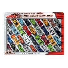 Street Machines Die Cast and Plastic Car Set TY792 (36 piece)