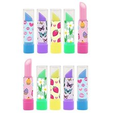 Henbrandt Lipstick Erasers (7cm) Assorted Colours and Designs