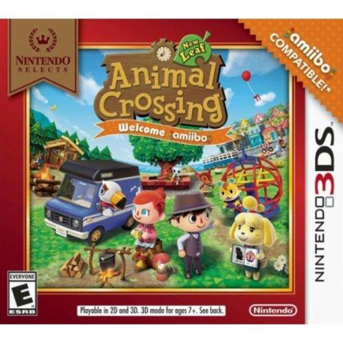 Nintendo Animal Crossing: New Leaf - Welcome amiibo, 3DS Basic...