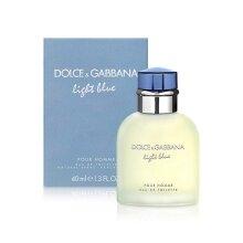 D&G Light Blue Pour Homme EDT Spray by Dolce & Gabbana  Men  1.3 oz