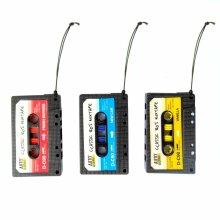 Retro Tape Cassette Hanging Car Air Freshener Berries New Car Vanilla