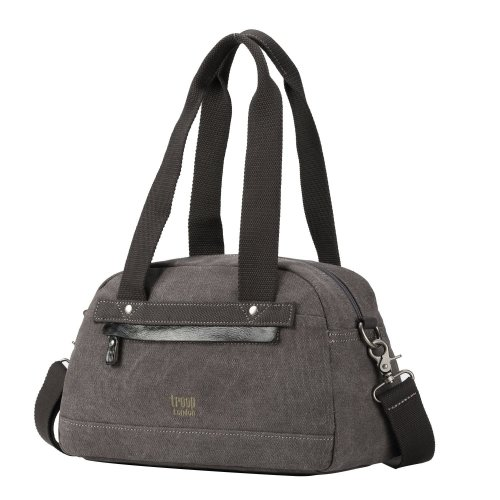 TRP0507 Troop London Classic Canvas Shoulder Bag