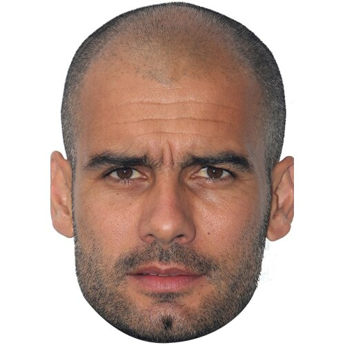 Pep Guardiola Football Sensation celebrity Party Face Fancy Dress