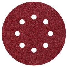Wolfcraft 2259100 125mm Easy Fix Sanding Discs for Corundum 80/120/ 240-Grit