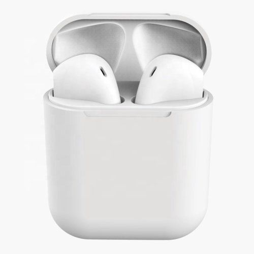 Inpods TWS i12 - White | Bluetooth In-Ear Headphones