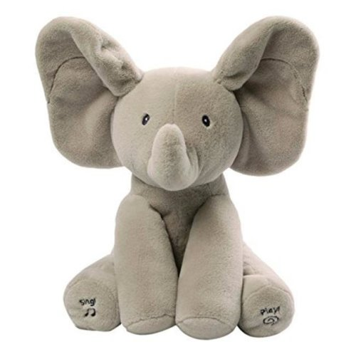 12 in. Baby Animated Flappy The Elephant Plush Toy