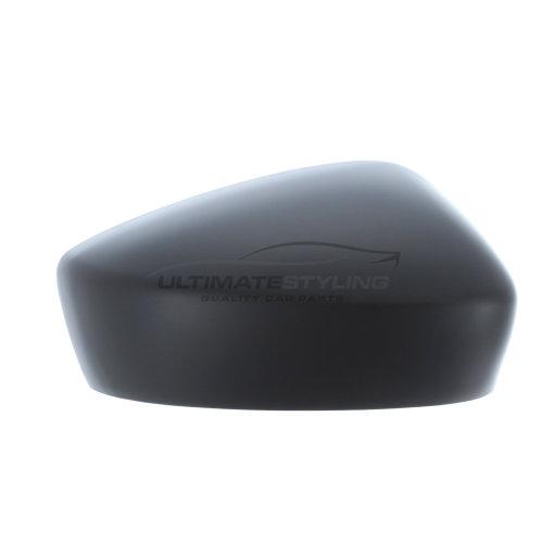 Mazda 3 BM Hatchback 10/2013-4/2017 Wing Mirror Cover Cap Paintable Black Drivers Side (RH)
