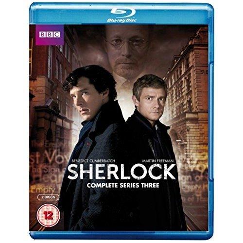 Sherlock (BBC) Series 3 Blu-Ray [2014]