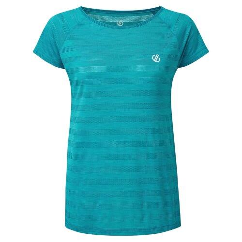 (10 UK, Fresh Water Blue) Dare 2B Womens/Ladies Defy T-Shirt
