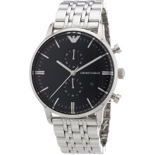 Emporio Armani AR0389 Men's Watch Chonograph, New with Tags , 2 Years Warranty