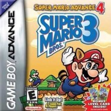 Super Mario Bros 3 + Advance 4 Gameboy Cartridge Repro Video Game Card for GBM NDSL GBASP GBA