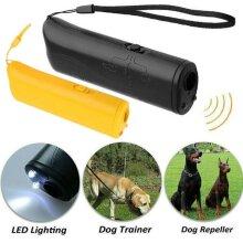 Pet Dog Ultrasonic Anti Barking Repeller Train Control Device Stop Bark Trainer