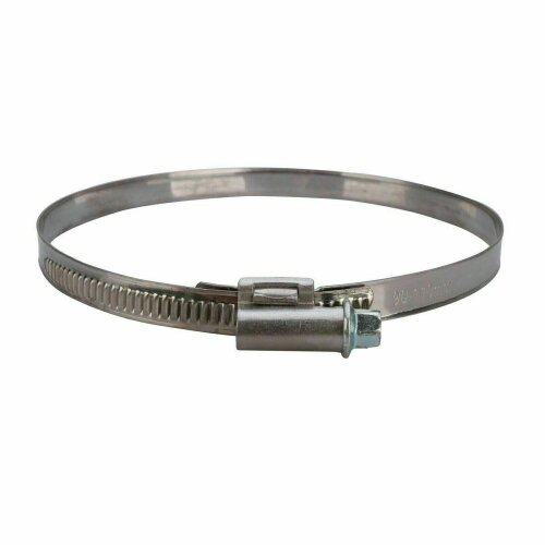 "JUBILEE CLIP DRIVE CLAMP BAND 90mm - 110mm FOR TUMBLE DRYER 4"" VENT HOSE"