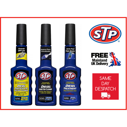 STP Diesel Particulate DPF Filter, Injector Cleaner & Fuel Treatment Additive