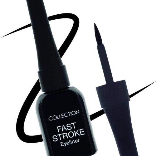 Collection Fast Stroke Black Eye Liner Award Winning Precision Liner Felt Tip