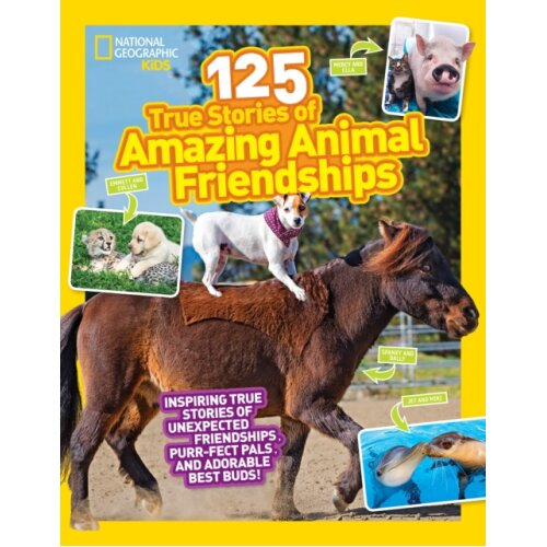 125 Animal Friendships by National Geographic KidsGerry & Lisa M