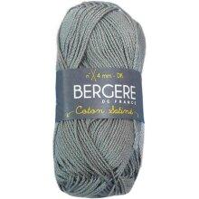 Bergere De France COTONSAT-35227 Coton Satine Yarn, Gris