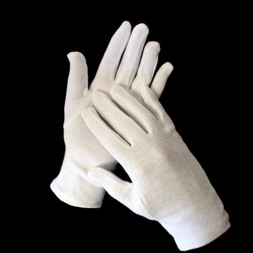 Dermatological Cotton Gloves 2 Pairs Hand Cream Hands Beauty Glove Waitress New