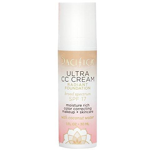 Pacifica Beauty Ultra CC Cream Radiant Foundation Warm/Light