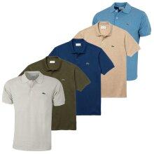 Lacoste Mens L1264 Original Mottled Polo Shirt