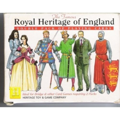 Royal Heritage of England Double Pack of Playing Cards