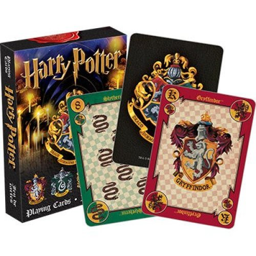 Playing Card - Harry Potter - House Crests Gifts Toys Licensed 52357